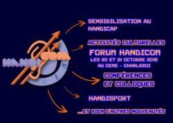 Forum Handicom le jeudi 20 et vendredi 21 octobre 2016